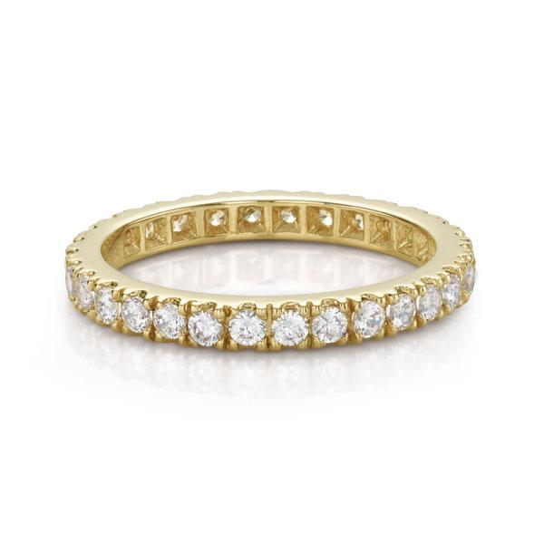 All-Rounder Round Brilliant Ring in Yellow Gold