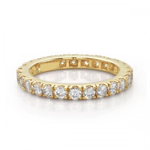 Round Brilliant All-Rounder Ring in Yellow Gold