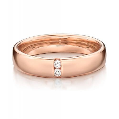 Together Forever Promise Ring - Wide in Rose Gold