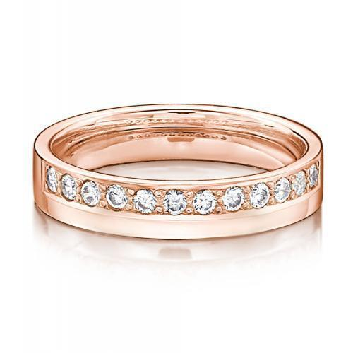 Eternal Promise Ring - Narrow in Rose Gold