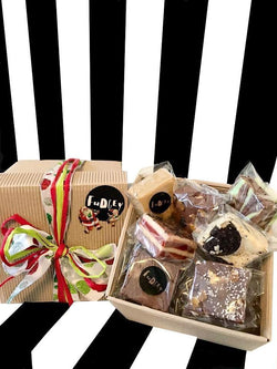 Fudgey Limited Edition Christmas Gourmet Fudge Gift Hamper