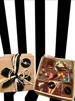 Fudgey Chocolate Gourmet Fudge Gift Hamper