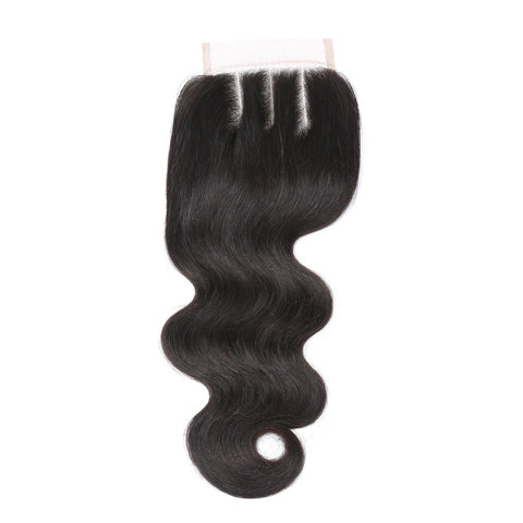 Brazilian Body Wave Lace Closure Free Part/Middle Part/Three Part