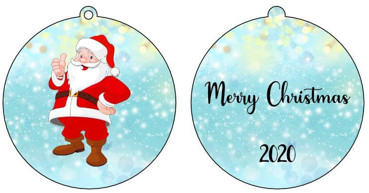Personalised Christmas Baubles - Full Colour Photo - Baxter Designs Australia