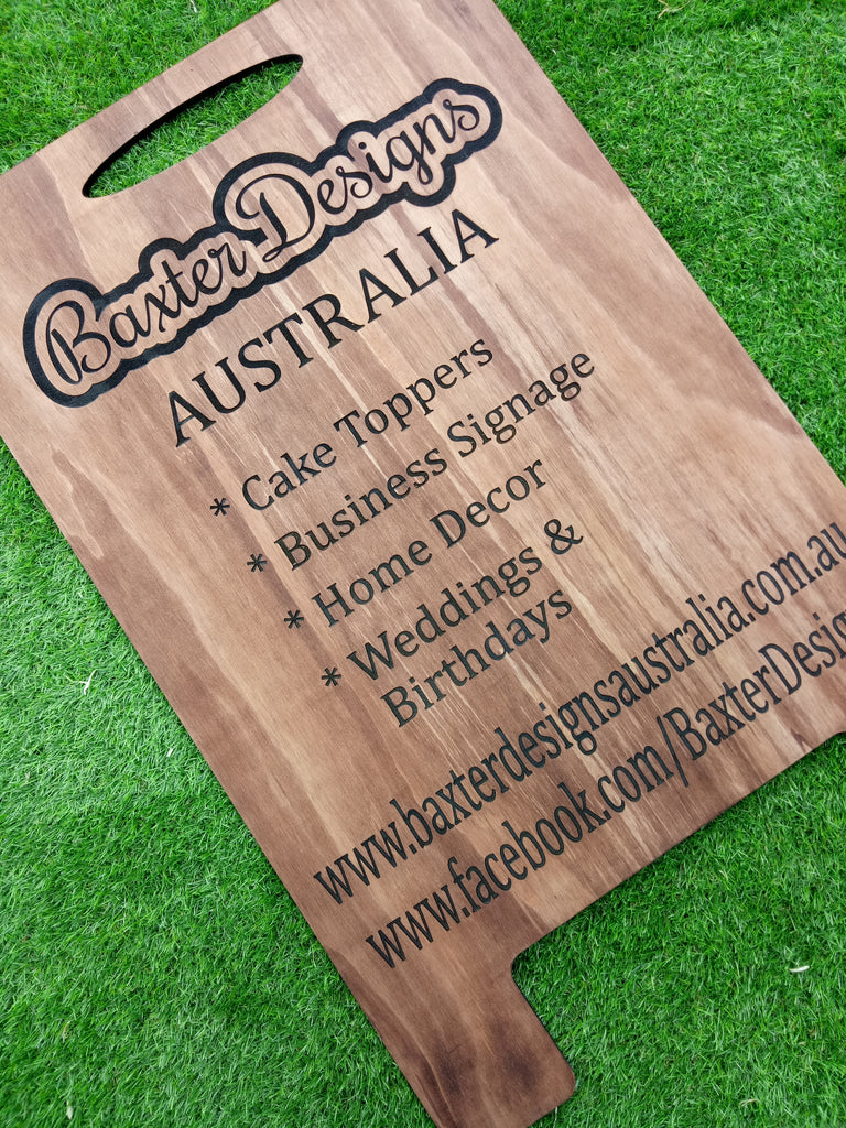Wooden A Frame / Sandwich Business Board Signage