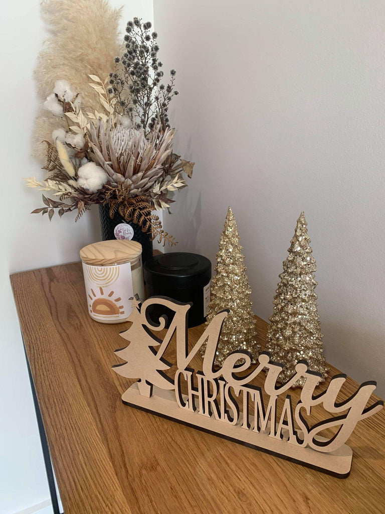 Merry Christmas Hall Way Sign