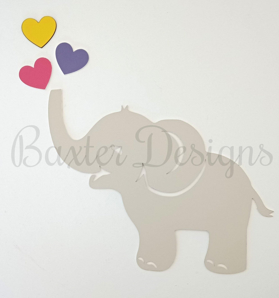 Acrylic wall shapes - Dress up any room or nursery - Dinosaur Elephant Fox plus more