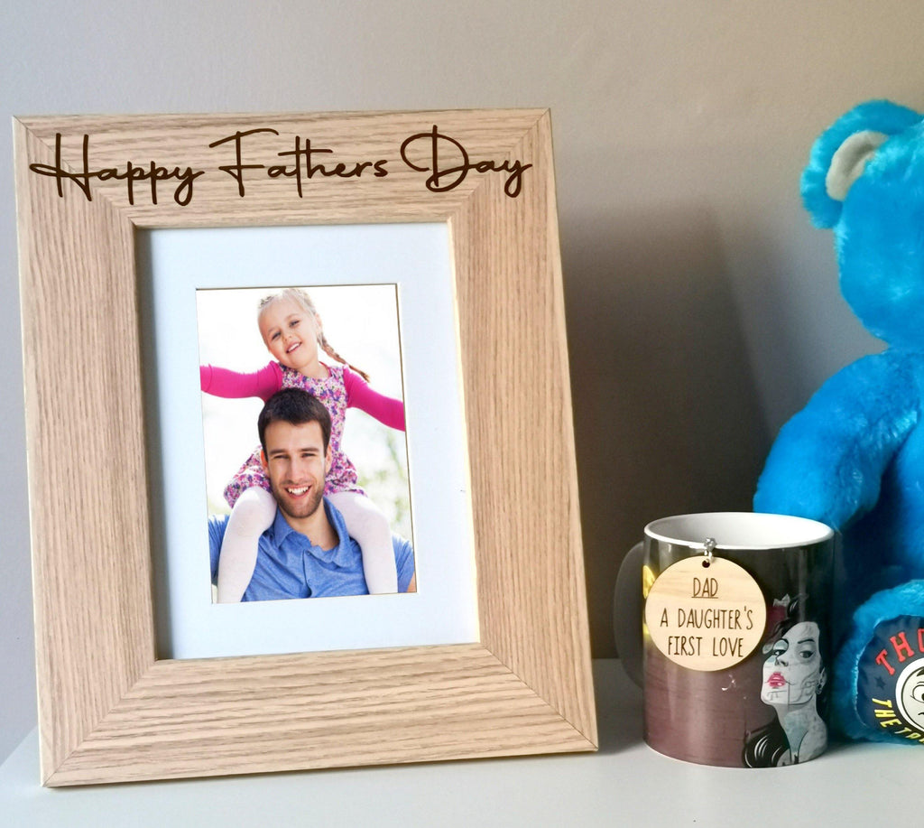 Fathers Day Personalised Photo Frames