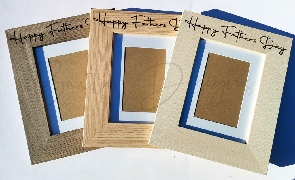 Fathers Day Personalised Photo Frames - Baxter Designs Australia