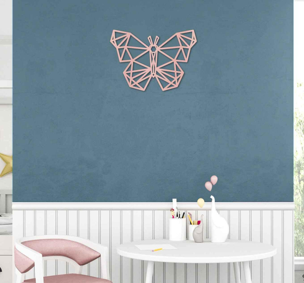 Geometric Animal Wall Sign Geo Acrylic Shape - Baxter Designs Australia
