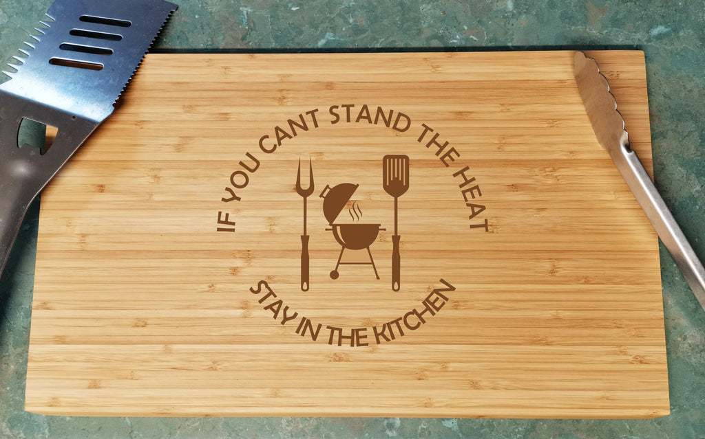 Fathers Day Chopping Board - BBQ Grill - Baxter Designs Australia
