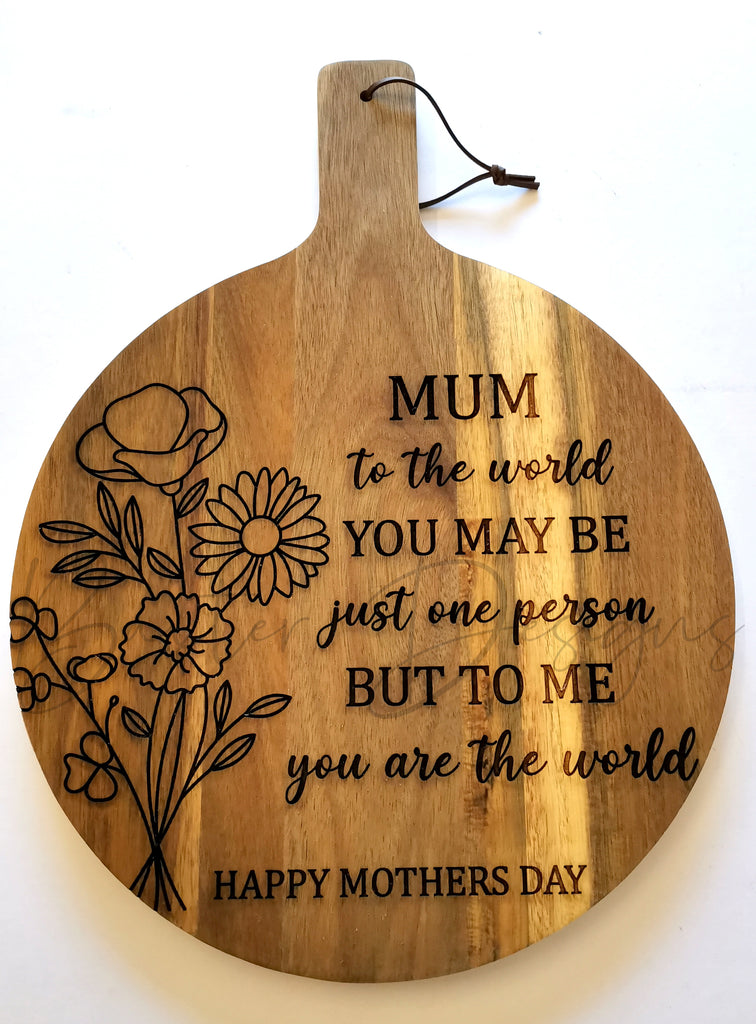 Mother Day Chopping Boards