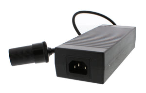 ABN 110V AC to 12V DC 10 AMP Cigarette to Plug Power Converter, Adapter