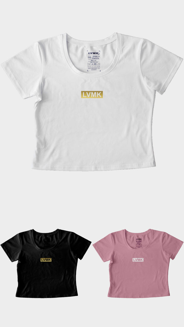"Women's ""Simple"" Crop Tee"