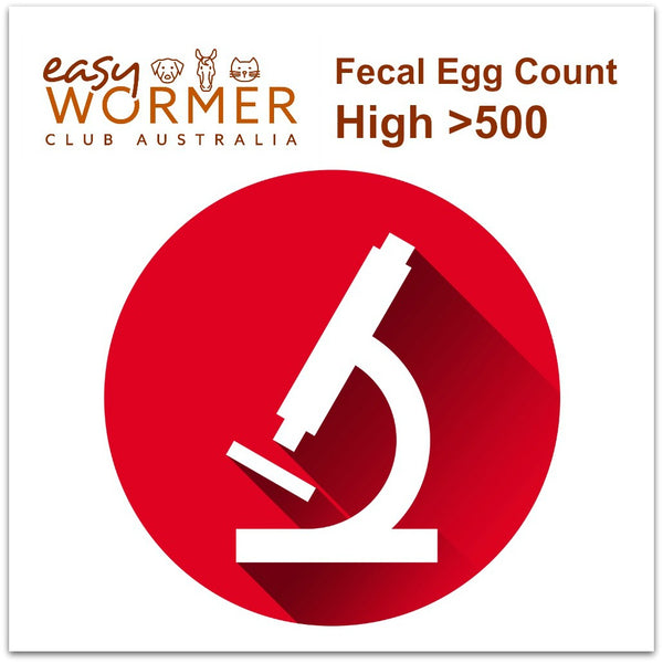 High FEC Worming Program - 5 x a year