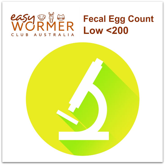 Low FEC Worming Program - 2 x a year