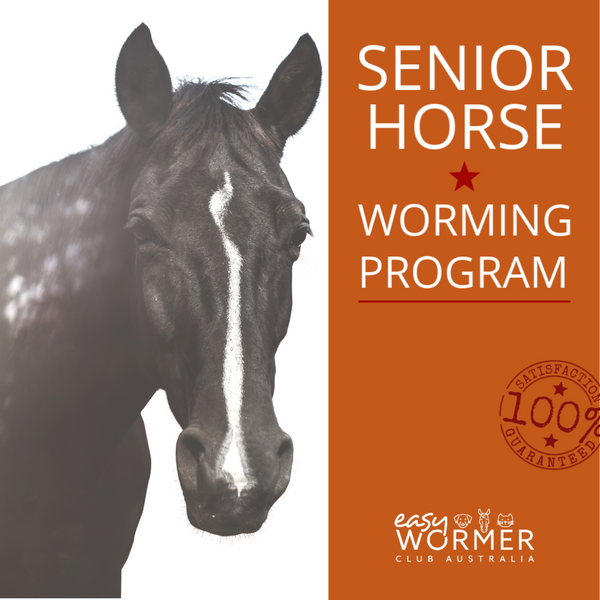 Senior Horse Rotational Worming Program 4 x a Year