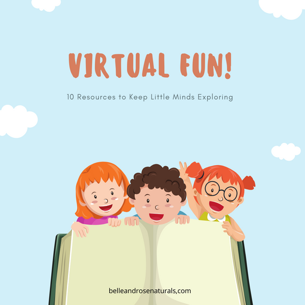 Virtual Fun! 10 Resources to Keep Little Minds Exploring