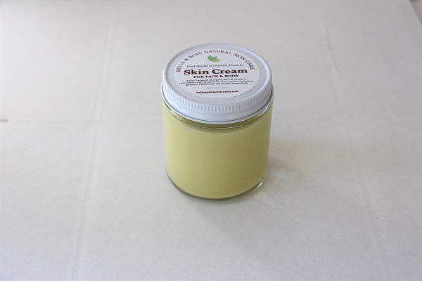 Skin Cream with Essential Oils
