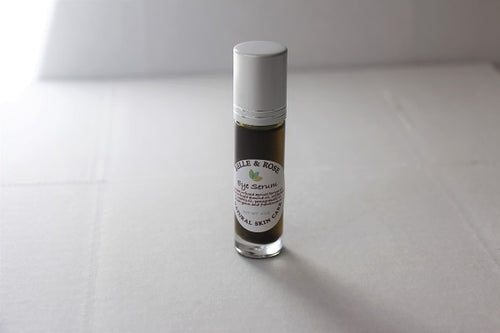 Eye Serum with Coffee and Matcha infused Oils