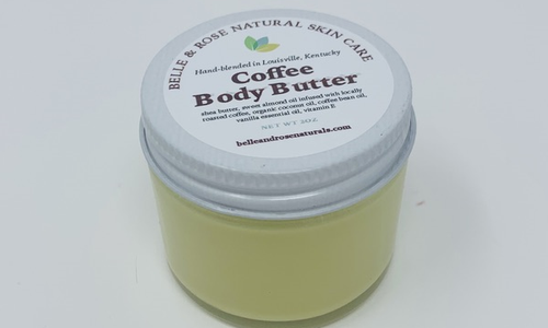 Travel Size Coffee Body Butter