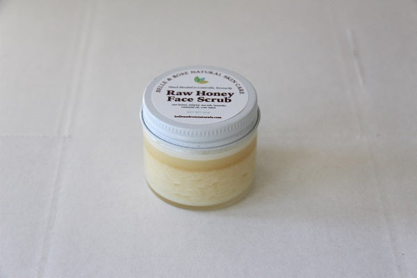 Travel Size Raw Honey Face Scrub