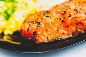 Music City Mustard Bangin' Baked Salmon