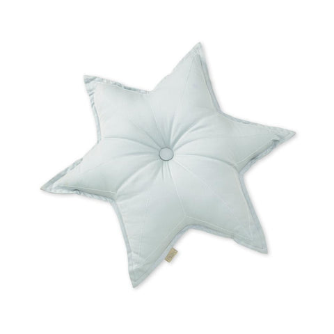 Star Cushion -Blue Mist - Mini Village