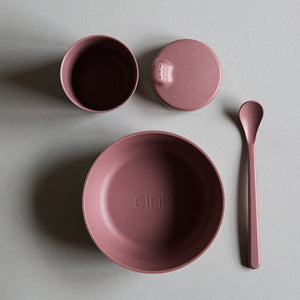 Bamboo Dinnerware Gift Box - Beet - Mini Village