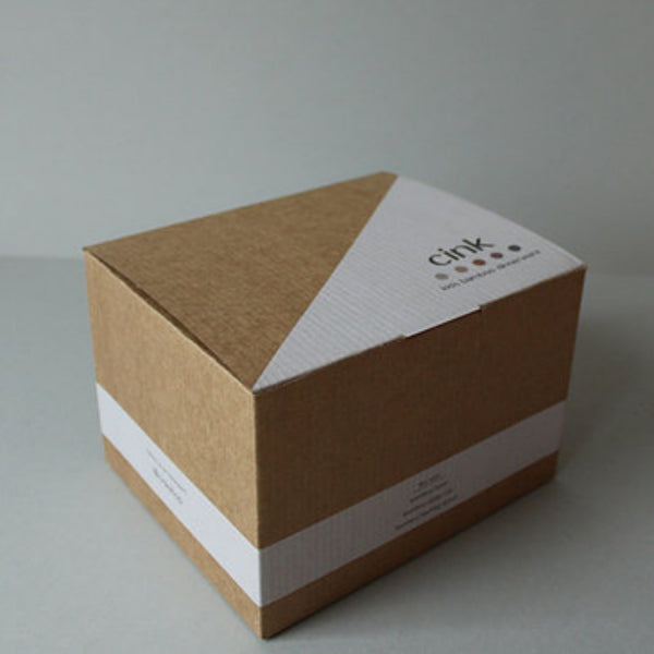 Bamboo Dinnerware Gift Box - Fog - Mini Village