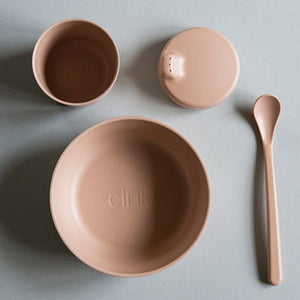 Bamboo Dinnerware Gift Box - Rye - Mini Village