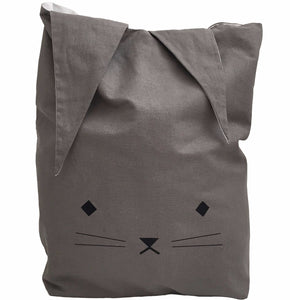 Canvas Storage Bag - Cat - Mini Village