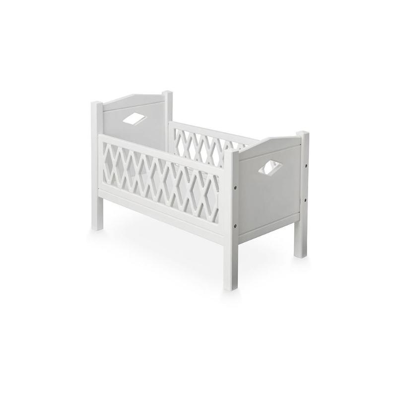 Harlequin Doll's Bed - White - Mini Village