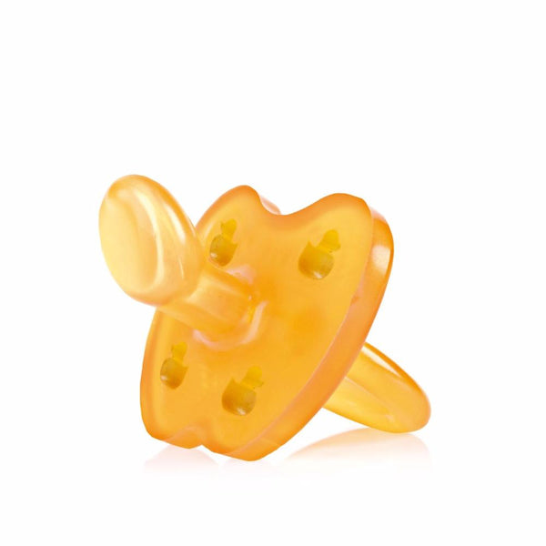 Duck Natural Rubber Pacifier - Mini Village