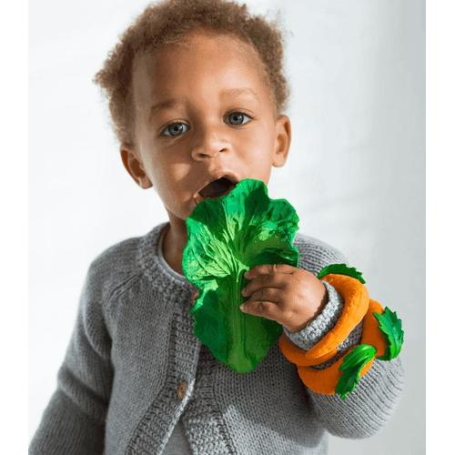 Kendall the Kale - Natural Rubber Teether - Mini Village
