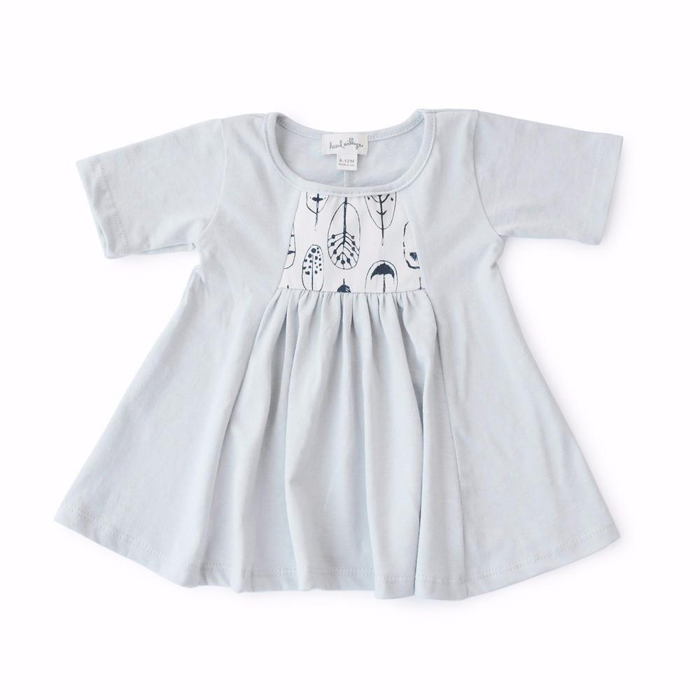 Phoebe Fawn and Birdhouse Smock Dress Bundle - Mini Village