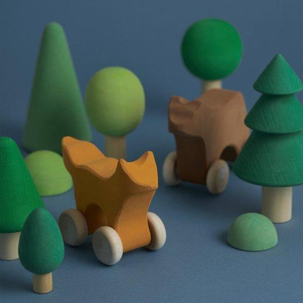 Wooden Forest Set (PRE ORDER) - Mini Village