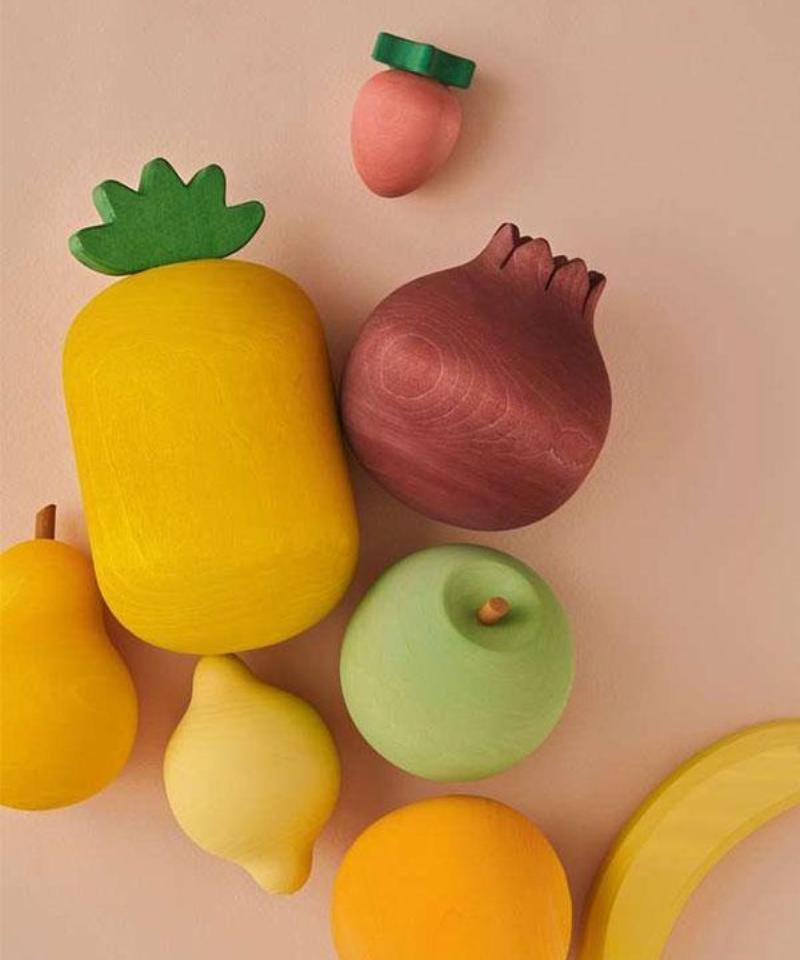 Wooden Fruit Set (Pre Order) - Mini Village