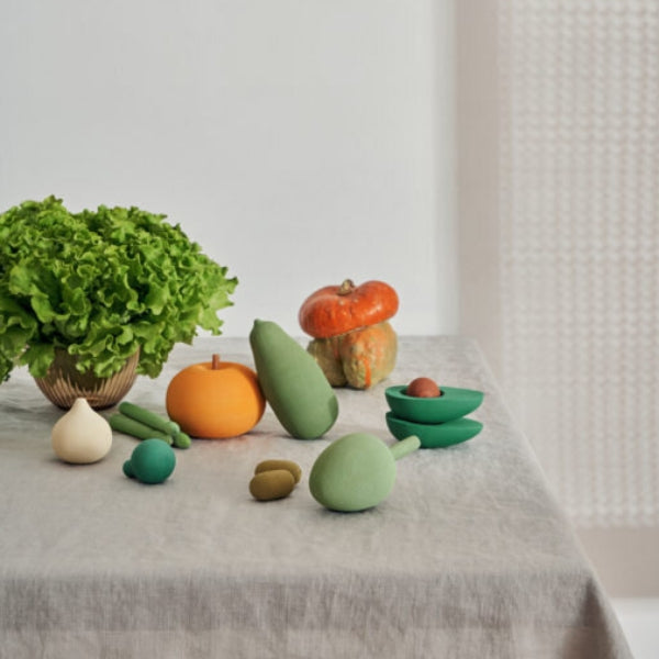 Wooden Vegetable Set Vol2 (PRE ORDER) - Mini Village