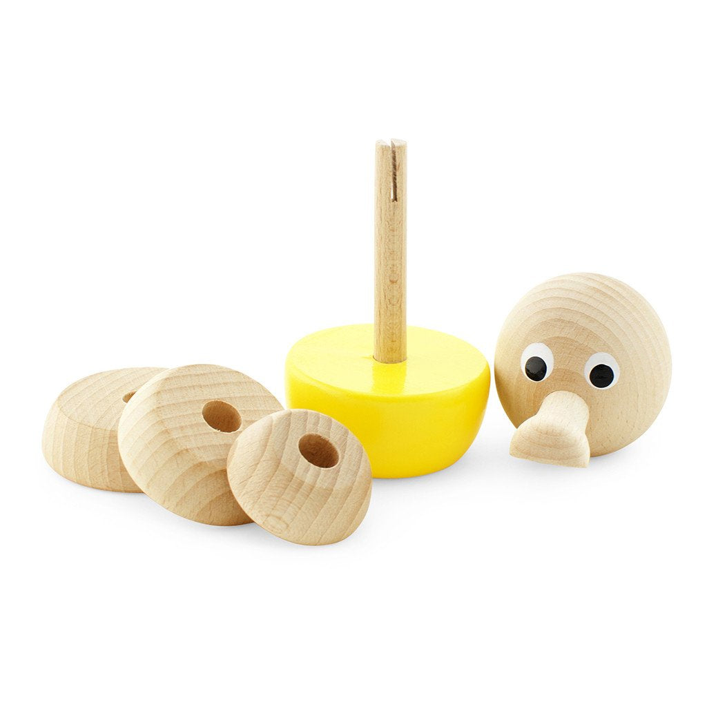 Wooden Stacking Puzzle Duck - Jemima - Mini Village