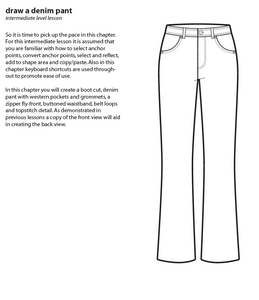 electric fashion EBook-drawing fashion flats with Adobe Illustrator