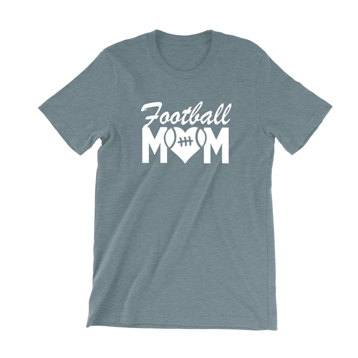 Football Mom Heart