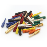 Wood Cribbage Pegs - 12 pack