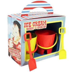 Paladone mini Ice Cream Bucket pots and Spades set