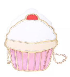 cupcake shaped chain shoulder bag
