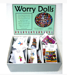 Guatemalan worry dolls - 3 different types! you choose style!