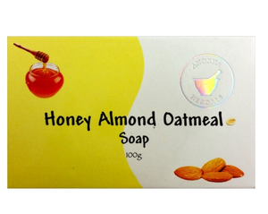 Anokha Soap bar Honey Almond Oatmeal 100gm