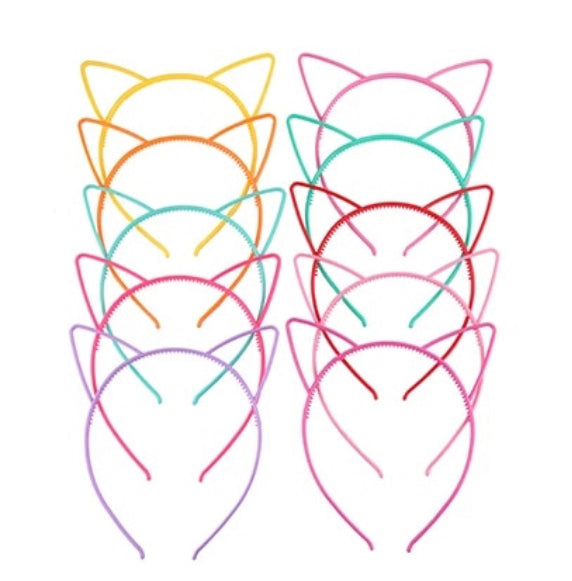 cat ear headband choose colour
