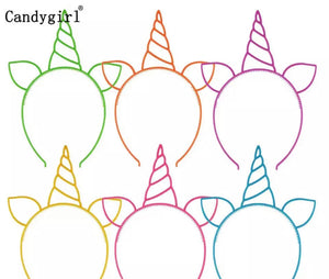 unicorn ear headband choose colour