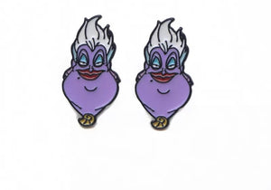 ursula evil queen small stud earrings